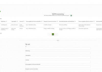 Listor<br>Få koll på allt ifrån licenser/hårdvara till hur man hanterar GDPR. Alla listor kan byggas efter era önskemål.